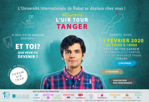 Caravane d'orientation « UIR TOUR » : Samedi 15 février 2020 à Tanger